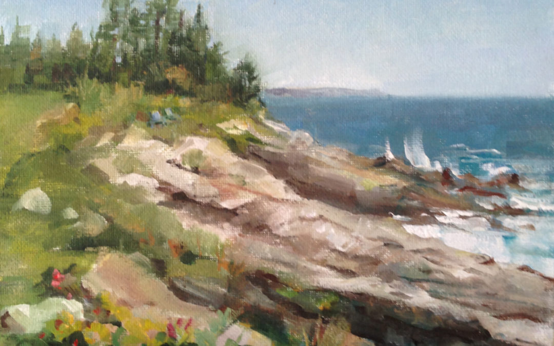 Plein Air Painting in Maine